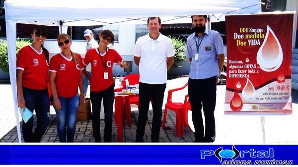 Bcão/DC – Saúde realiza blitz com panfletagem e conscientização para doação de sangue