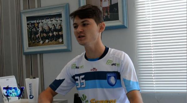 Barraconense – Rafa Hermes se diz 100% para o jogo contra o Cruzeiro São Roque