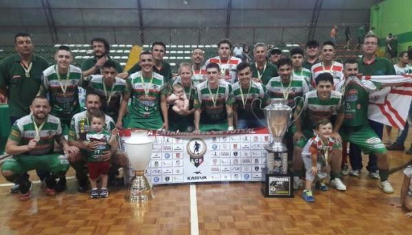 Liga Catarinense – ADC Curitibanos fica com título do estadual de futsal