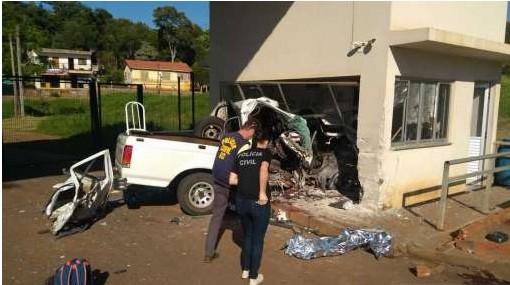 Motorista envolvido no acidente na aduana de cargas em Dionísio Cerqueira é preso