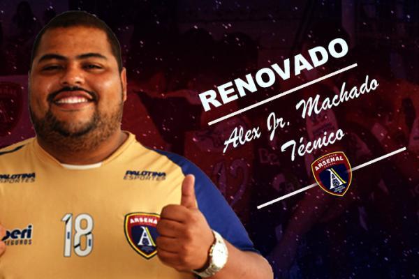 Técnico Alex renova com o Leão da Fronteira para temporada 2018