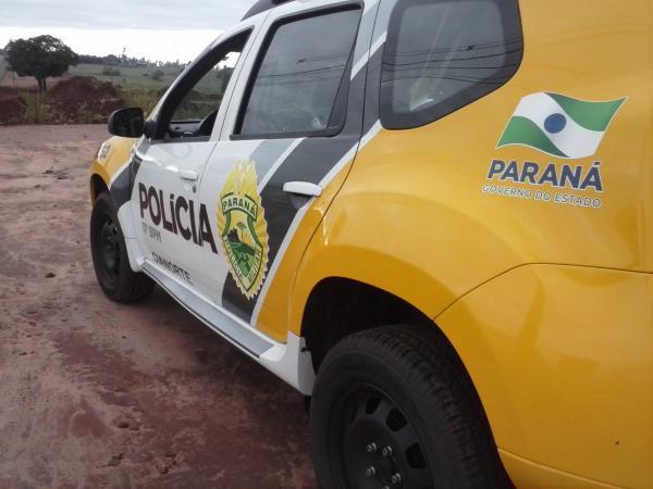 PM localiza arma abandonada no interior de Santo Antônio do Sudoeste