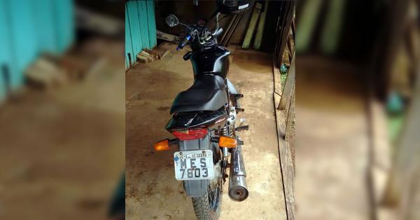 Moto roubada em Princesa é localizada em Dionísio Cerqueira