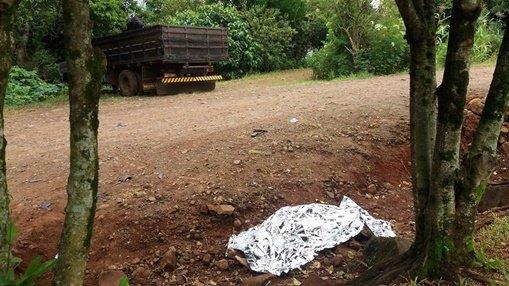 Mulher morre e homem fica ferido após acidente em Santa Izabel do Oeste