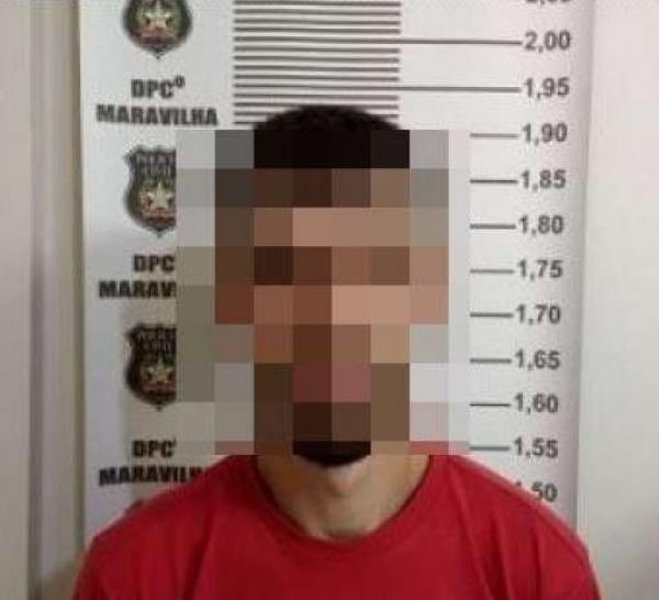 Policia Civil de Maravilha prende acusado de roubo