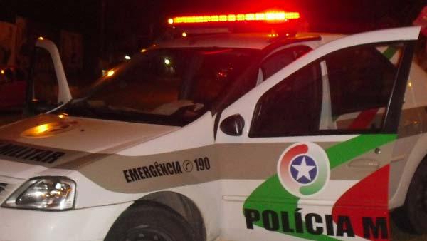 Condutor sem CNH foge da abordagem policial