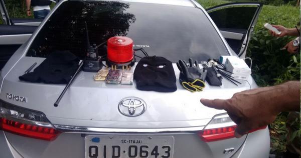 Polícia Civil e Militar do PR e SC evitam ação de quadrilha especializada em roubos na região