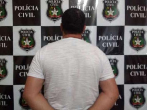 Acusado de estuprar as enteadas é preso pela Polícia Civil