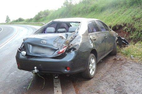 Dois acidentes são registrados na BR-158