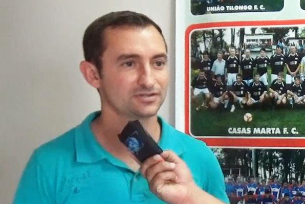 Diretor de Esportes de Flor da Serra parabeniza a iniciativa da Copa dos Campeões