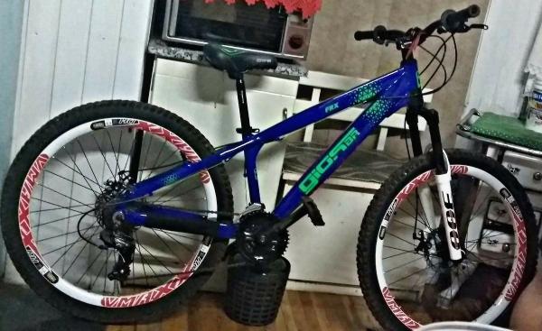 Bicicleta é furtada em Barracão