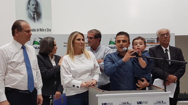 Em evento no Hospital Regional, Aliel e Ministro dão início às obras da Maternidade