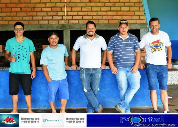 Barracão - Quase tudo pronto para o I Torneio da Integração entre Agricultores, Funcionários Público e Empresários