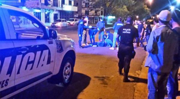 Carro brasileiro se envolve em acidente em Bernardo de Irigoyen