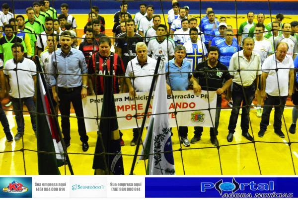 Barracão – Interbairros começou com muita esportividade e competitividade