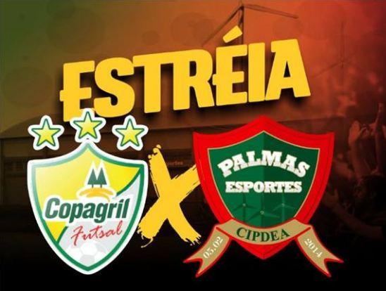 Palmas estreia hoje contra Copagril no Paranaense Série Ouro