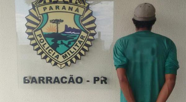 Foragido da justiça é preso em Barracão
