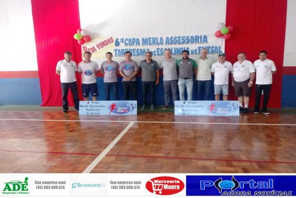 Escolinhas de Futsal das Cidades Gêmeas Participam da Copa Merlo/Torfresma