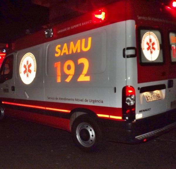 Homem fica gravemente ferido após ser atropelado na PR-281