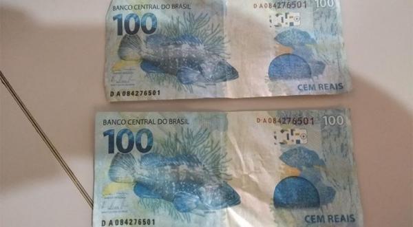 Comerciante recebe notas falsas em Bom Jesus do Sul