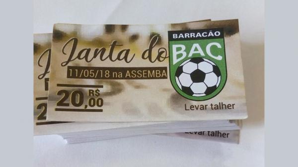 Comissão técnica e atletas do Barracão realizarão jantar para arrecadar fundos para equipe