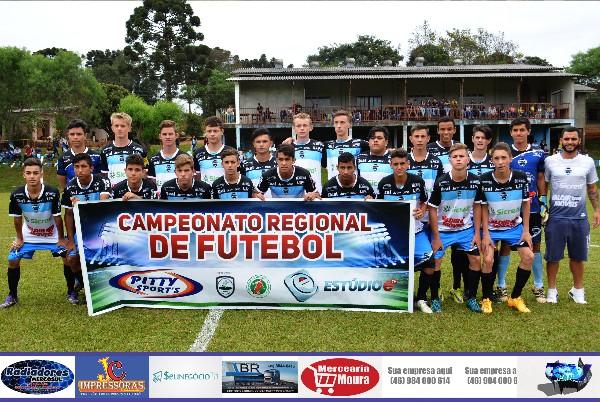 Sub 18 do Dionísio F.C se consagra campeão no Regional de Futebol
