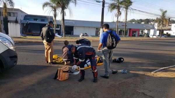 Duas pessoas ficam feridas após acidente em Francisco Beltrão