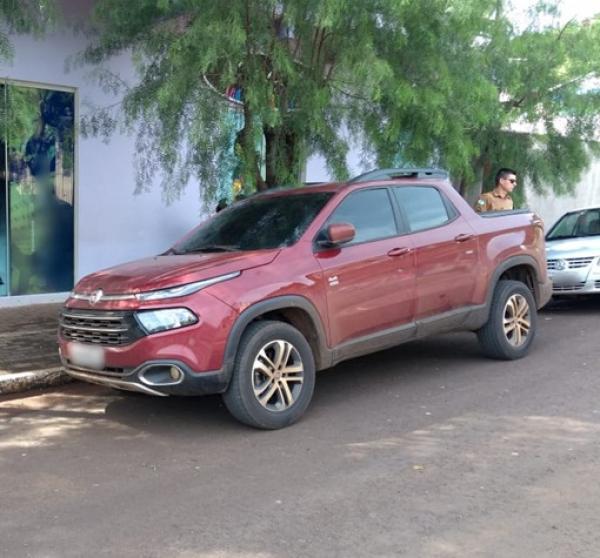 PM recupera veículo roubado em São Paulo