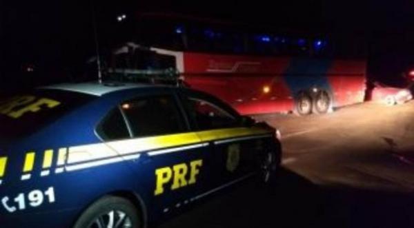 Celular rastreado denuncia paradeiro de assaltantes de ônibus