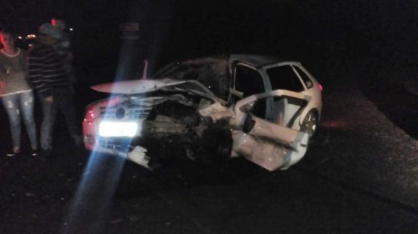 Sete pessoas ficam feridas em acidente na PR-281
