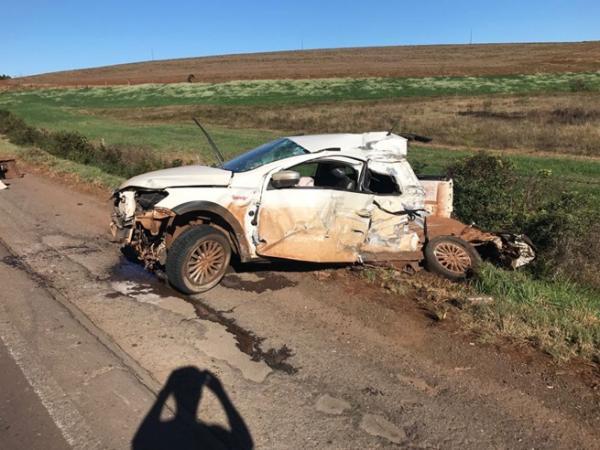 Vereador morre em acidente na PR-280