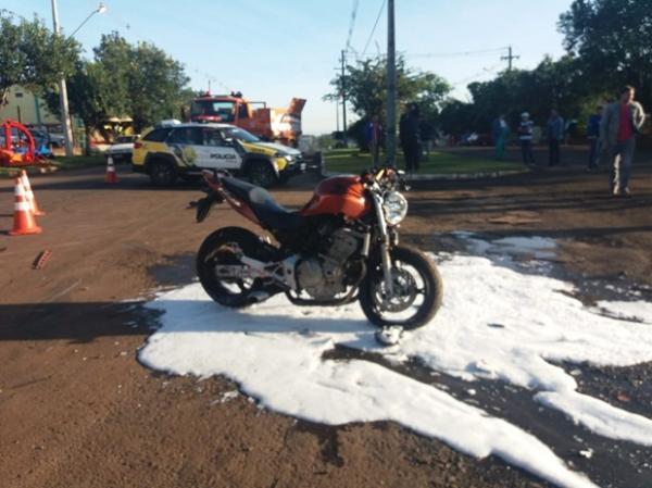 Motociclista morre após acidente em Realeza