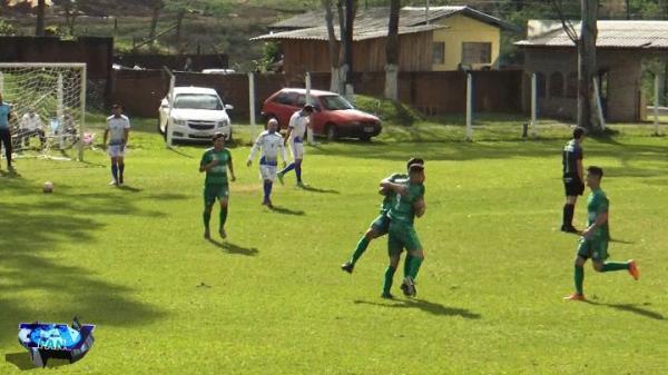 Maicon Willi comemorando o gol da vitória barraconense/Foto:Reprodução PANTV