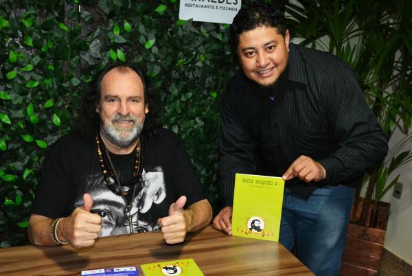 Diretor do Portal Agora Noticias foi convidado de honra em lançamento de obra do escritor santo-antoniense