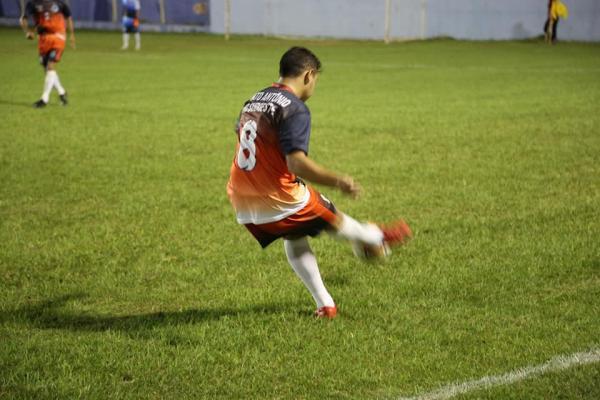 Atleta santo-antoniense em jogo contra Barracão/Foto:Divulgação ASCOM