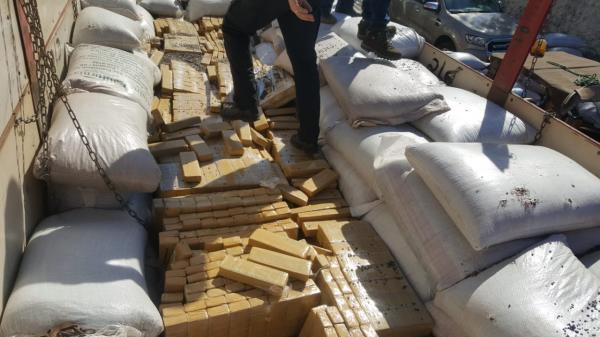 Receita Federal apreende quase duas toneladas de maconha