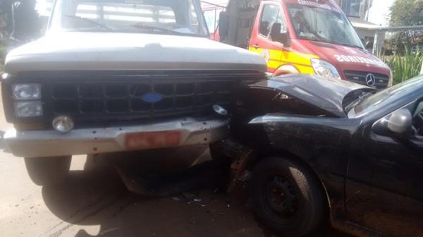 Condutora fica ferida após acidente em Dionísio Cerqueira