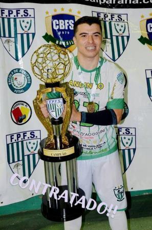 Andinho é a nova contratação do Ampére Futsal