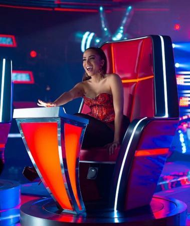 Anitta será técnica do The Voice mexicano