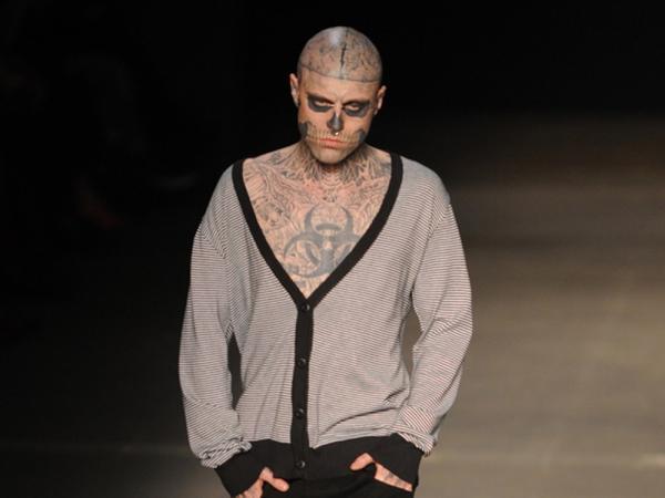 Zombie Boy, modelo do clipe Born this way de Lady Gaga, morre aos 32 anos