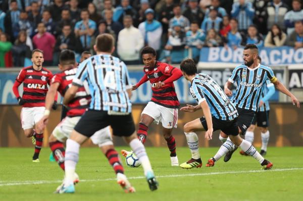 Grêmio enfrenta o Flamengo pelo Brasileirão