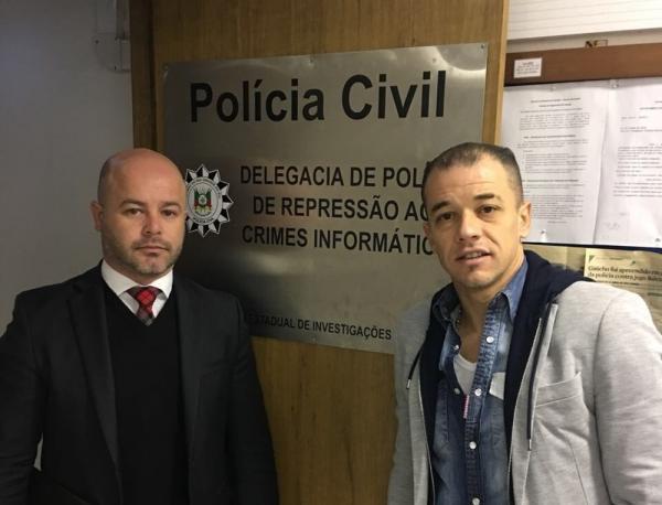 Polícia indicia 11 pessoas por ofensas a D'Alessandro na internet
