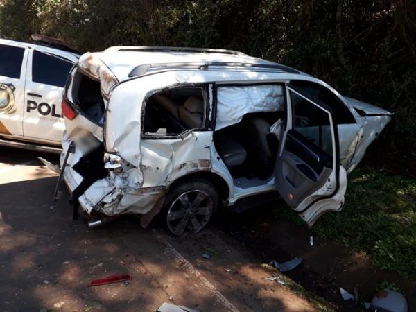 Homem fica ferido em acidente na PR-281