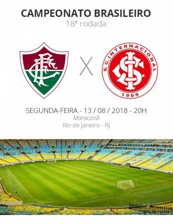 Inter enfrenta o Fluminense nesta segunda
