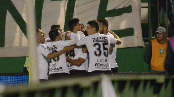 Chapecoense é eliminada da Copa do Brasil pelo Corinthians