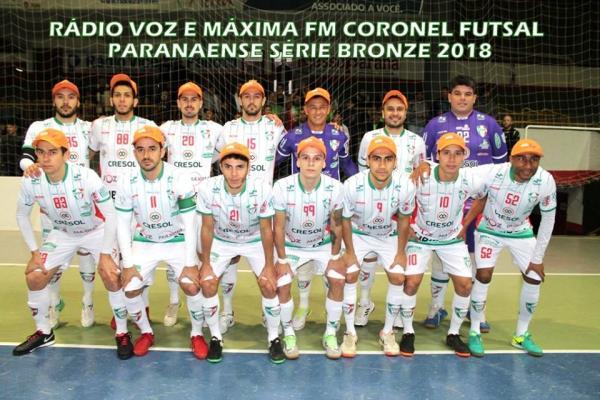 Coronel Futsal goleia o Misto Bordô na estréia da segunda fase da Série Bronze do Paranaense