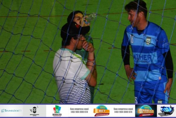 Barracão foi bem na estreia da Copa Sudoeste de Futsal e voltou para casa com um empate sabor de vitória