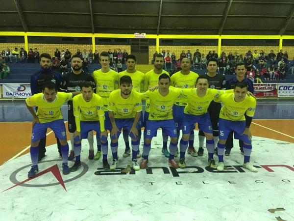 Ampére Futsal venceu o Dois Vizinhos