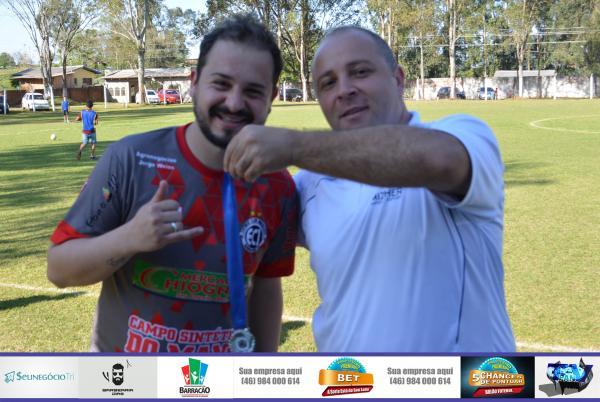 Barracão – Marcel leva medalha de melhor da partida entre Industrial e Boca pelo Barraconense Aspirante