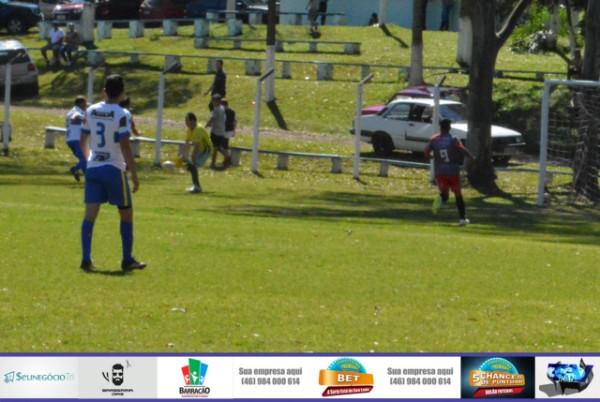 Municipal de Futebol de Barracão terá mais uma rodada com quatro jogos neste final de semana